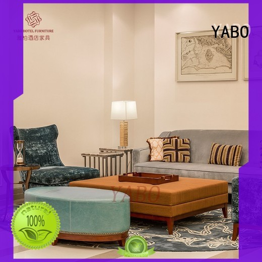 YABO golden antique hotel lobby furniture armrest