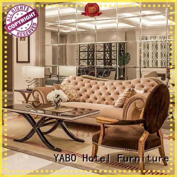 YABO painted hotel lobby furniture suppliers wholesale