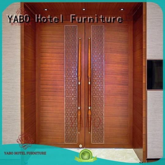 hotel doors suppliers fixing hotel door YABO Brand