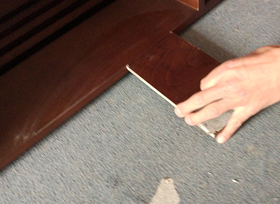 YABO-Wood Fixing Partition For Hotel | Inexpensive Wood Wall Covering-3