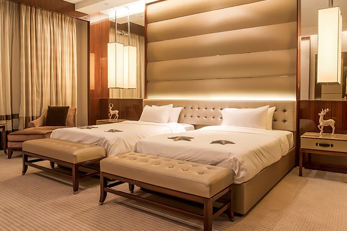 YABO classical modern hotel bedroom furniture custommade for home