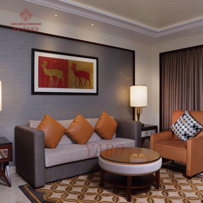Smartness Custom-Made Hotel Bedroom Furniture YB-IPS