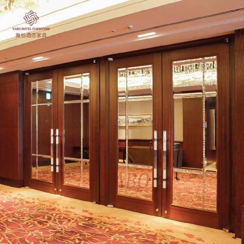 YABO wooden interior wood wall covering supplier-hotel furniture- hotel furniture suppliers- hotel f-1