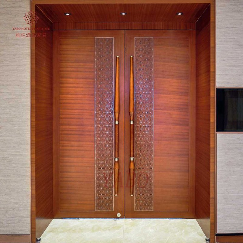 Hotel Wood Door-YB-103