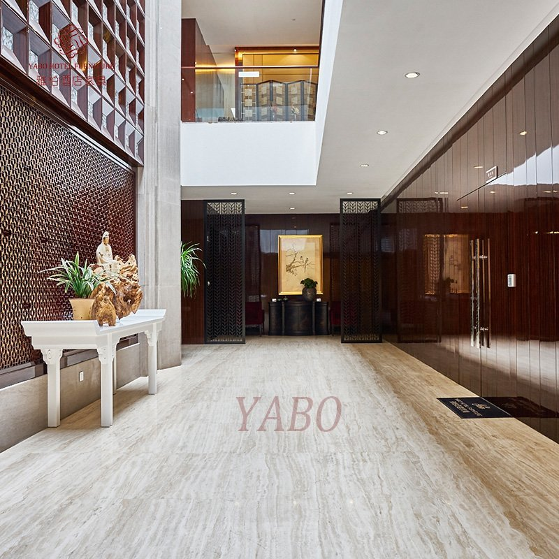 Brown Color Wooden Wall covering-YB-101