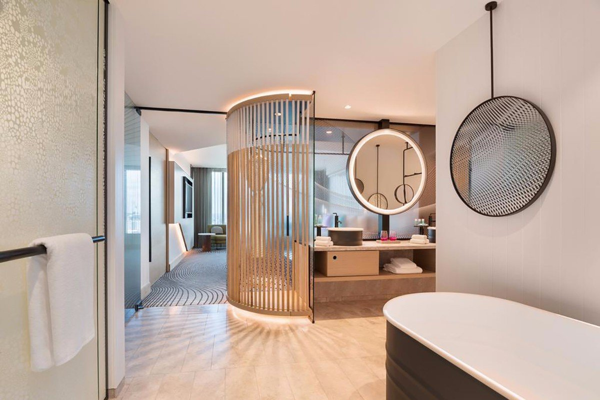 YABO-Wood Fixing Partition For Hotel | Inexpensive Wood Wall Covering
