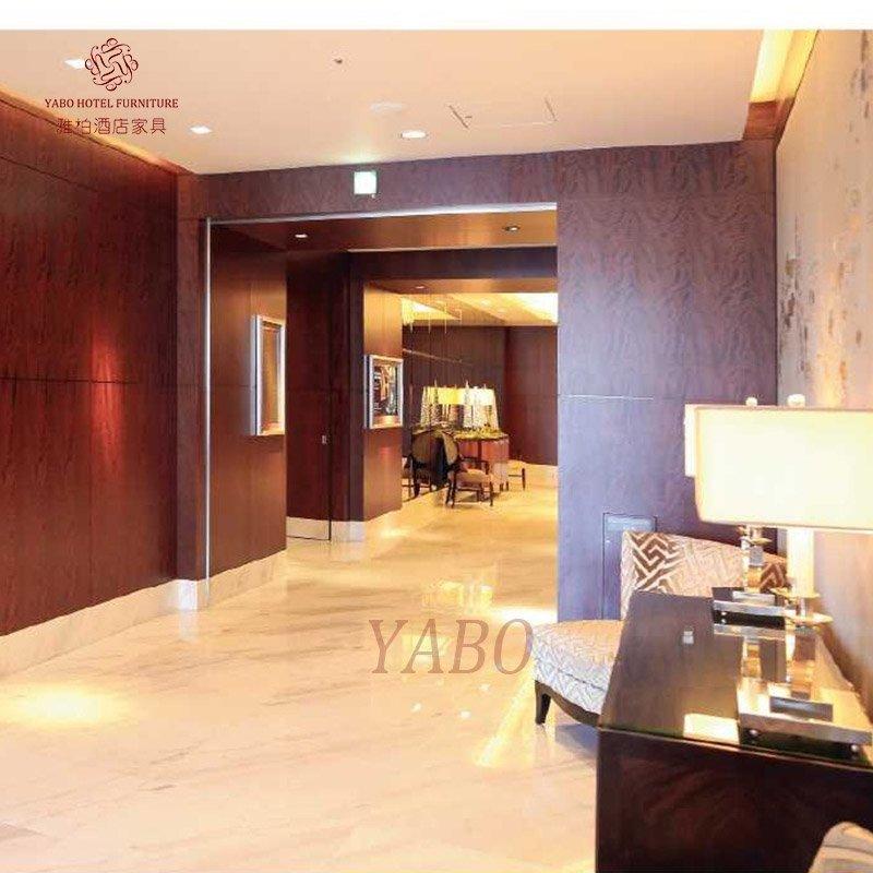 Wooden Hotel Corridor wall covering-YB-102
