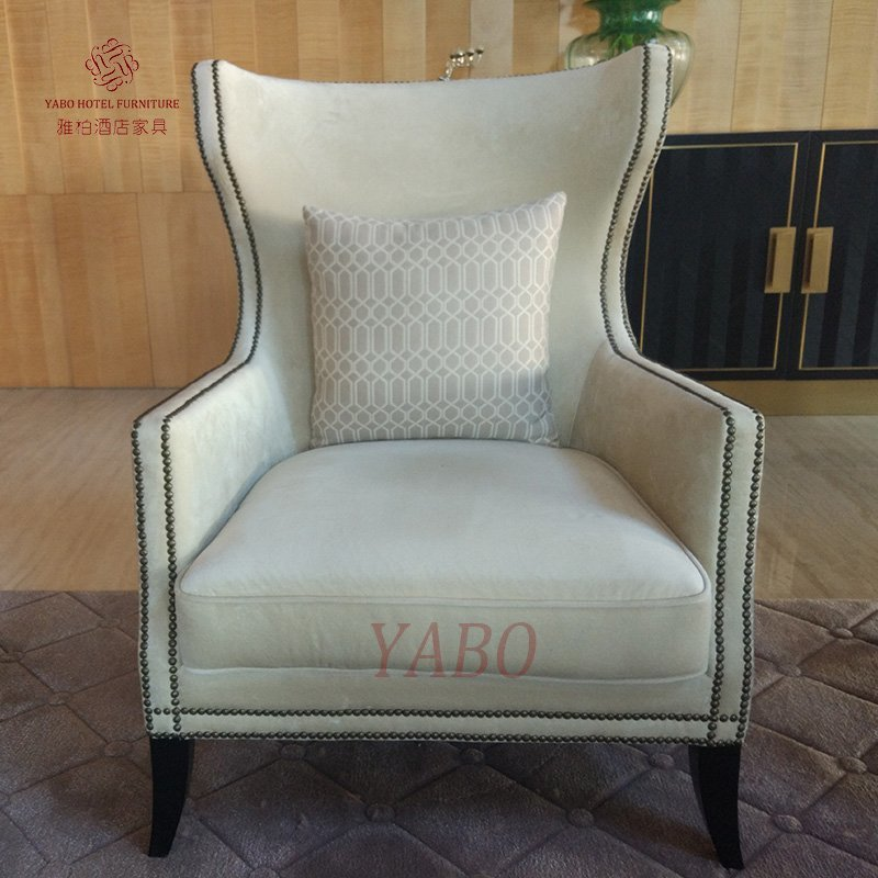 Hotel Living room Leisure Chair For Sale-YB-C402