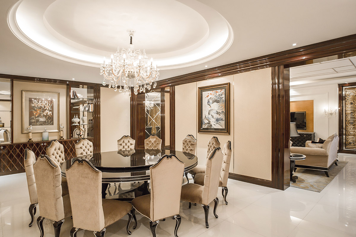 YABO-Clsasical Hotel Restaurant Furniture Round Dining Table | YABO