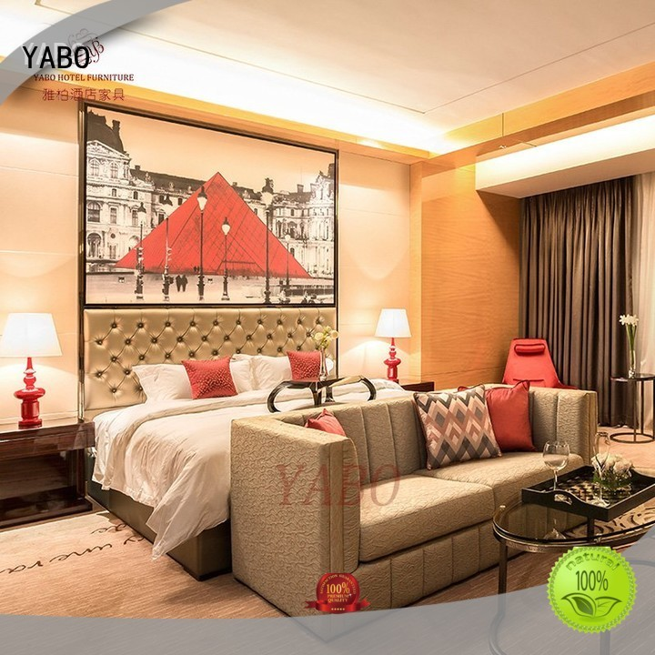 YABO warm hotel bedroom furniture products supplier for living room