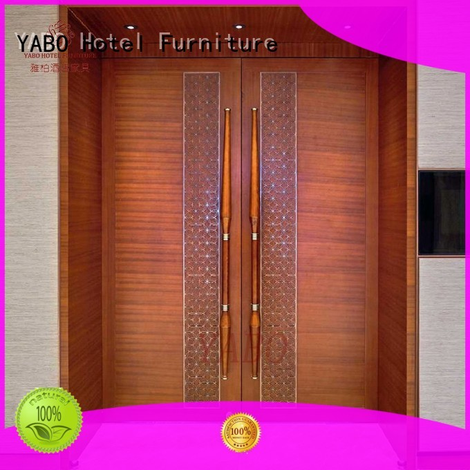 YABO clsasical hotel door manufacturer for home