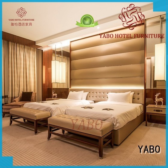 YABO classical hotel bedroom furniture for sale representative
