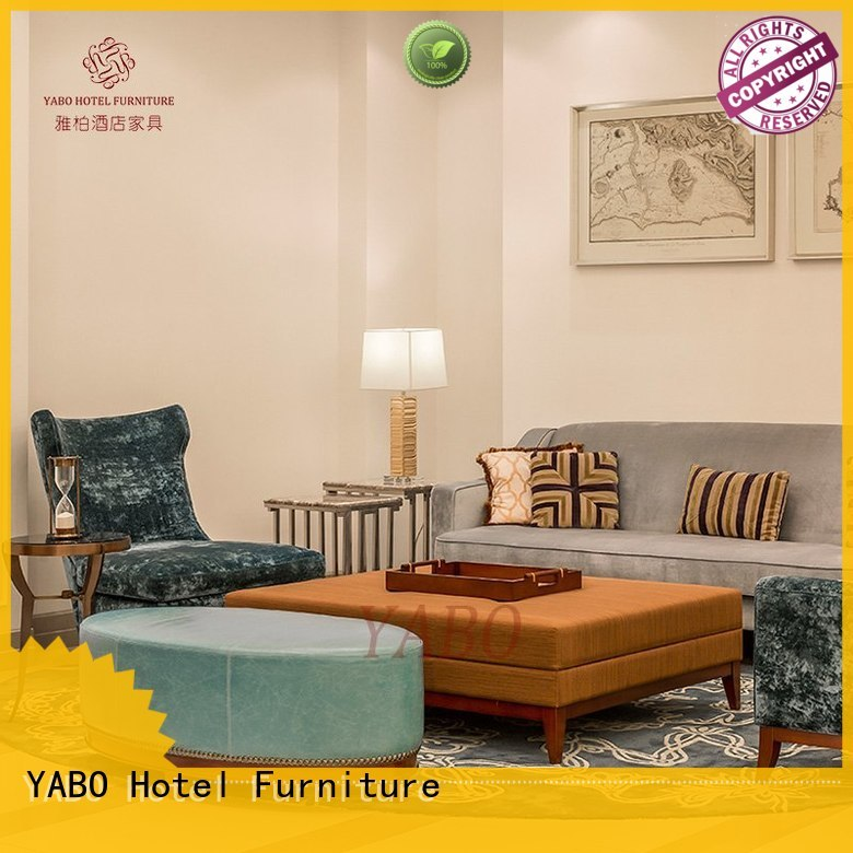 YABO luxury hotel lobby furniture suppliers for hotel