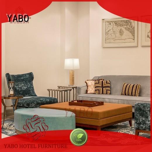 YABO casual luxury hotel lobby furniture