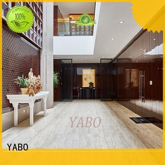 vinyl wood wall covering corridor YABO