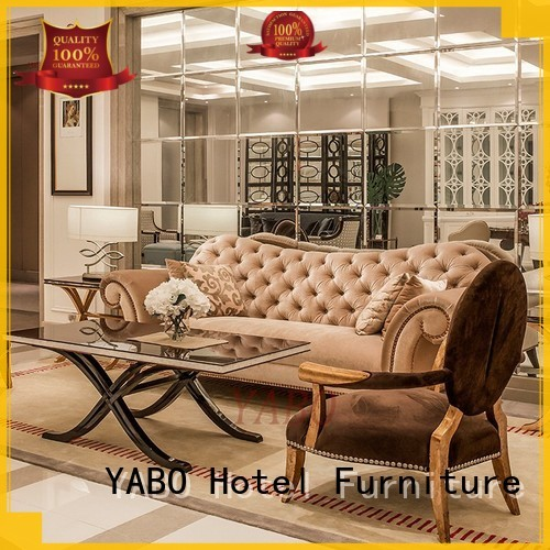 hotel lobby chairs foot armchair hotel lobby furniture YABO Brand