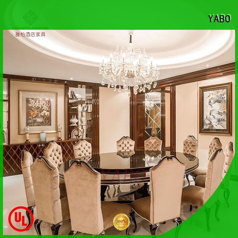 YABO wooden hotel restaurant furniture suppliers on sale for hotel