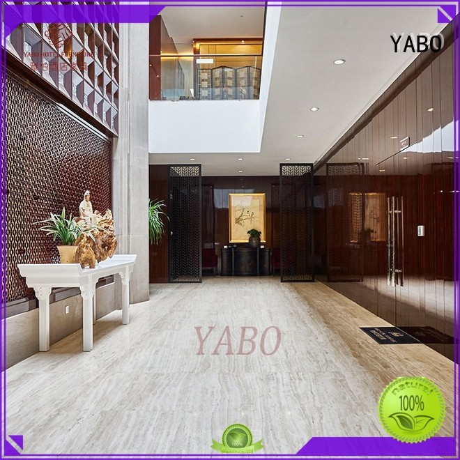 YABO wooden real wood wall covering manufacturer for hotel