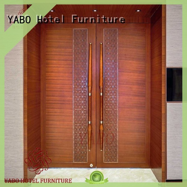 real wood wall covering corridor for home YABO