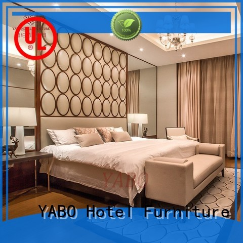 YABO painted hotel bedroom furniture for sale wholesale for home