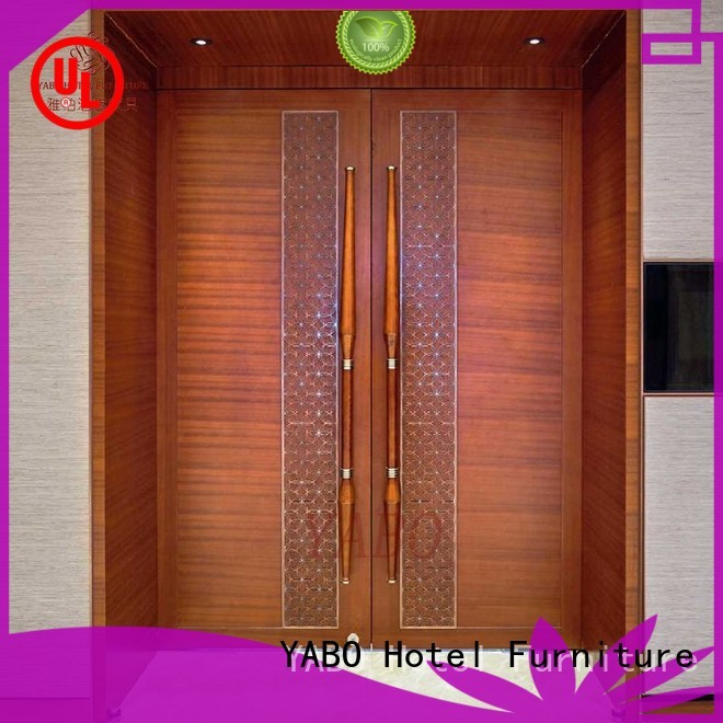 YABO clsasical hotel doors suppliers customization for living room