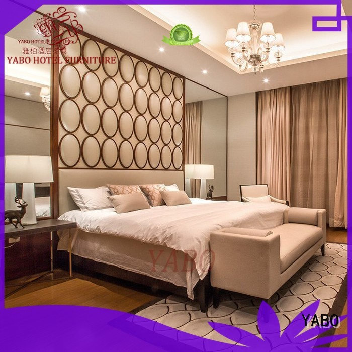 YABO double hotel bedroom furniture sets series for hotel