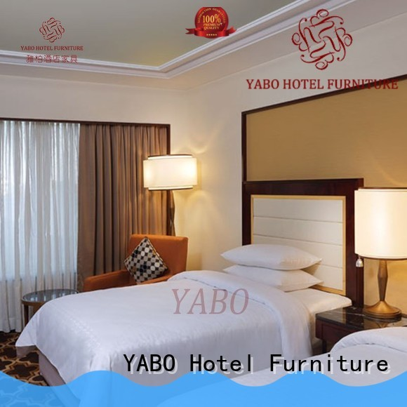 YABO high quality contemporary hotel bedroom furniture king