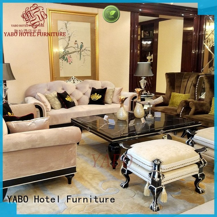 YABO clsasical hotel living room furniture wholesale for living room