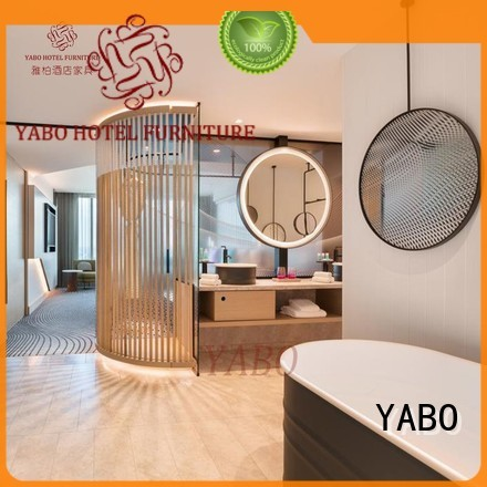 customized fixing YABO Brand hotel doors suppliers factory