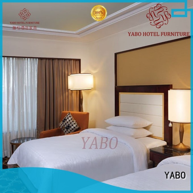YABO queen hotel bedroom furniture manufacturers production for home