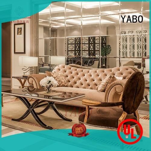 YABO sofa luxury hotel lobby furniture