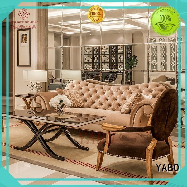 YABO golden hotel lobby furniture suppliers