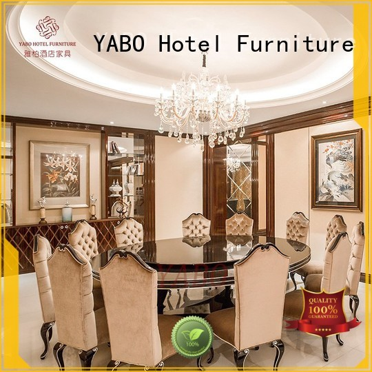 YABO high quality hotel dining furniture series for home