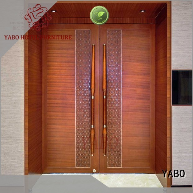 YABO clsasical hardwood wall covering partition for living room