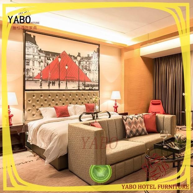 representative contemporary hotel bedroom furniture series YABO
