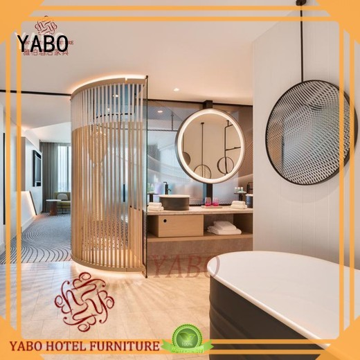 YABO partition real wood wall covering series for living room