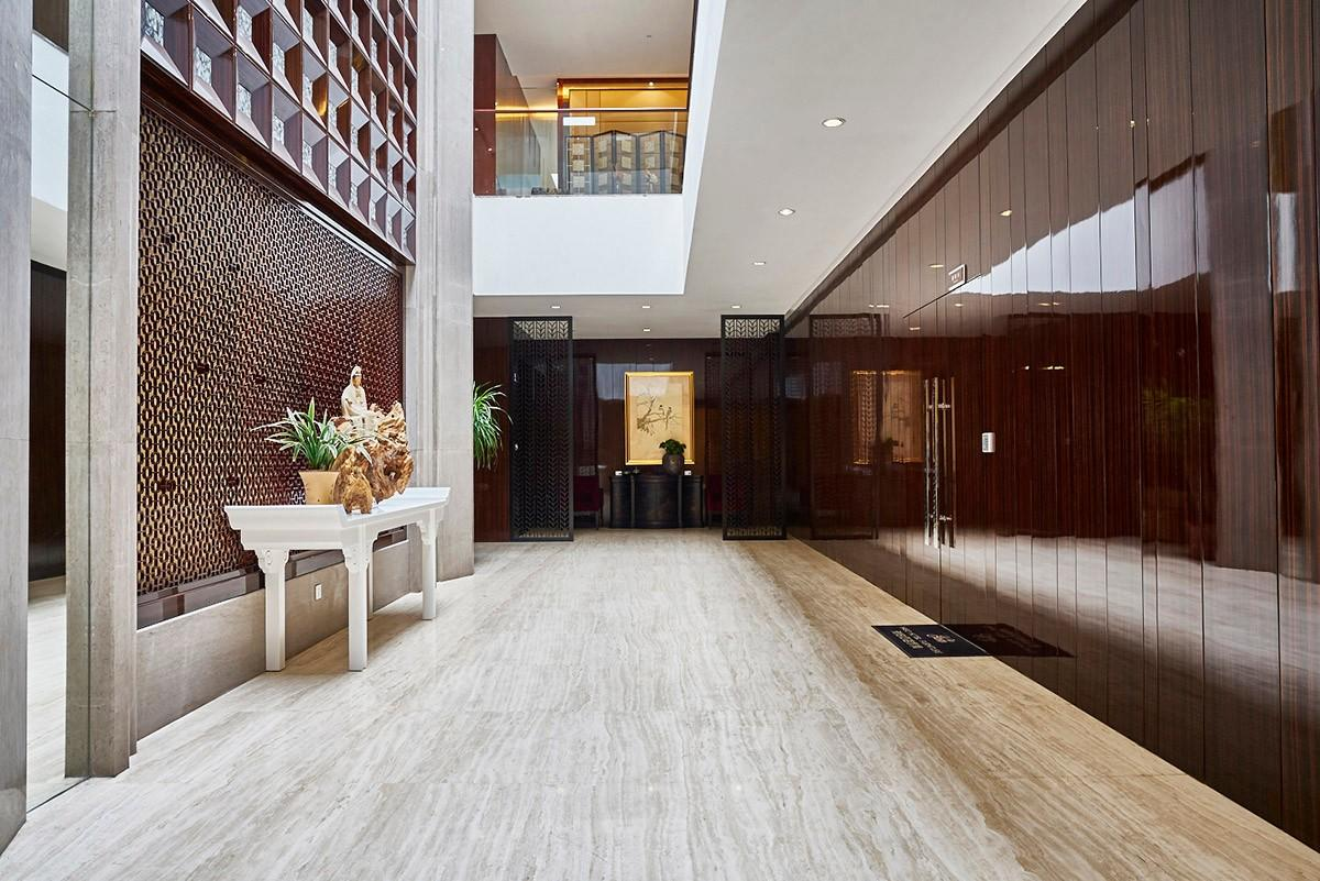 YABO-Find Thin Wood Wall Covering Brown Color Wooden Wall covering