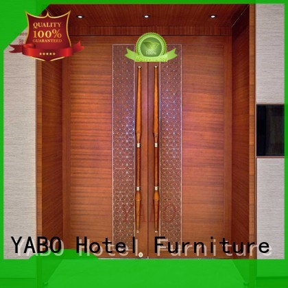 hotel doors suppliers popular color customized YABO Brand