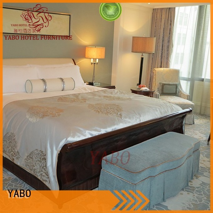 hotel room furniture suppliers wholesale for living room YABO