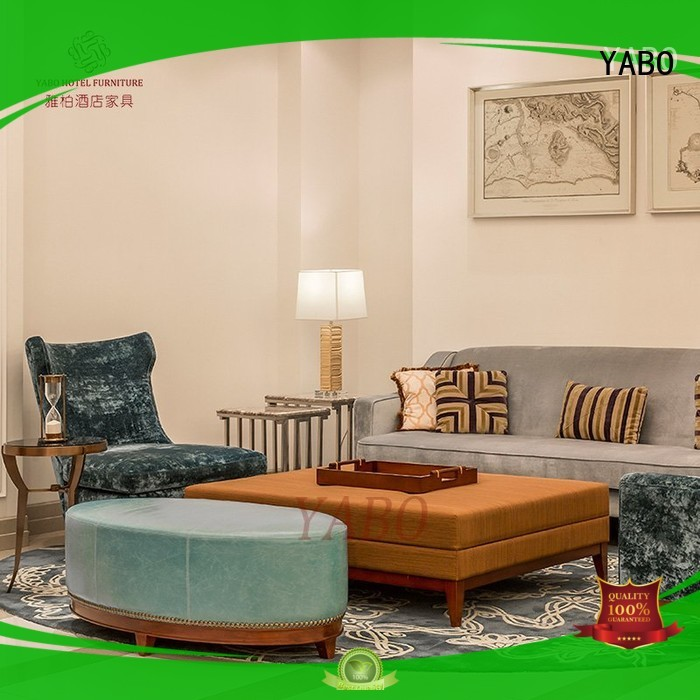 YABO casual luxury hotel lobby furniture wholesale for home
