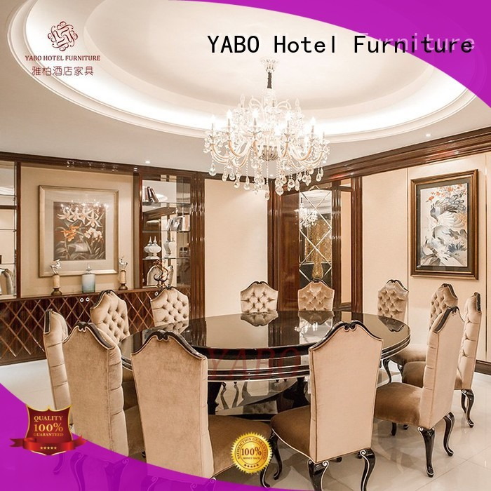 round five star hotel furniture sale manufacturer for home YABO