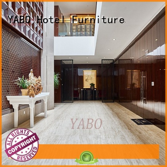 partition wooden color YABO Brand hotel doors suppliers manufacture