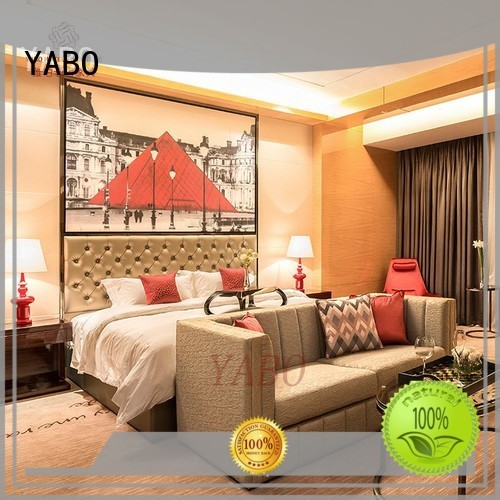 YABO queen hotel bedroom furniture supplier for home