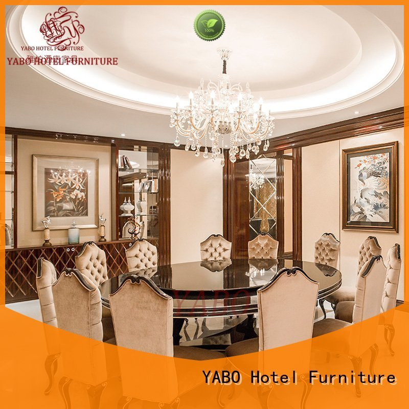 dining five star hotel furniture sale production for hotel YABO