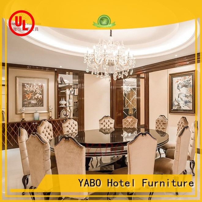 YABO wooden modern hotel furniture for sale square for living room