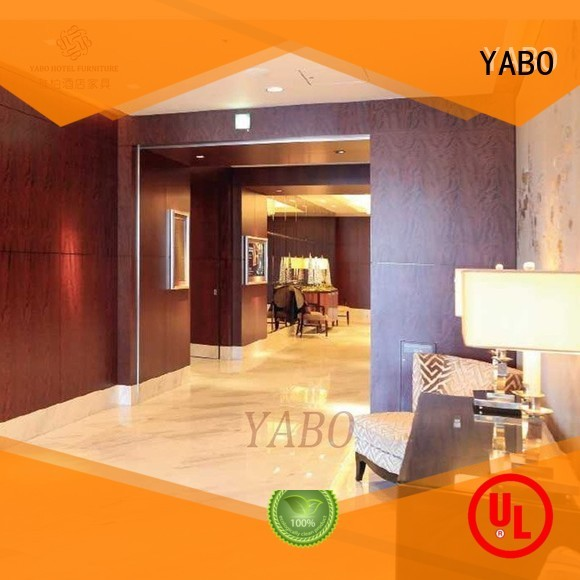 YABO corridor interior wood wall covering manufacturer for home