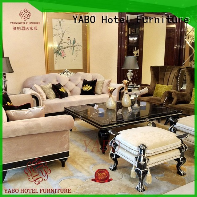 YABO style high end hotel furniture on sale for living room