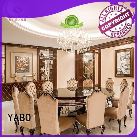 YABO dining hotel dining furniture supplier for hotel
