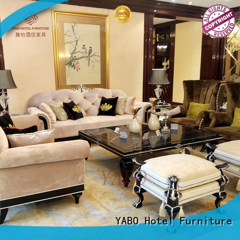 clsasical hotel furniture set production for hotel