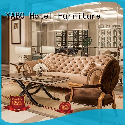 YABO casual hotel lobby furniture manufacturers production